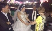 وزيرة الصحة تفاجىء محمد ومورال وتشارك بفرحهما دون دعوة