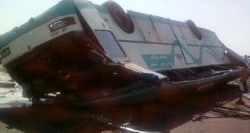 مصرع 33 شخص وإصابة العشرات بحادث بين حافلتين سياحيتين قرب شرم الشيخ