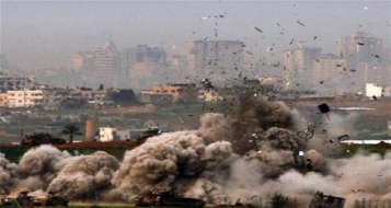 غزة : ارتفاع عدد الشهداء إلى 2078 واسرائيل تواصل عدوانها