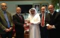 رئيس الغرفة التجارية والصناعية عامر صالح في قطر