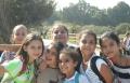 مدرسة راهبات الفرنسيسكان في الناصرة في نزهة ارشاديه الى منطقة الحولة