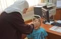 إقبال جيد على التطعيم ضد البوليو في قرى مرج إبن عامر