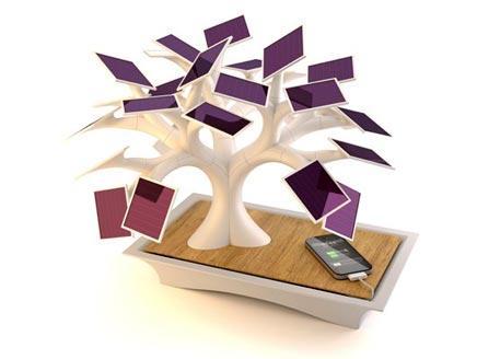 مصمم فرنسي يبتكر شجرة اصطناعية