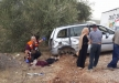 مصرع سيدة فلسطينية واصابة 4 بحادث مروع قرب