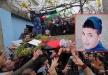 بيت ريما تودع شهيدها احمد الذي ارتقى برصاص الاحتلال فجرًا