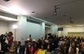 خلال حفل اطلاق مبادرة فلسطين 100 في لندن