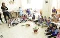 زيارة اطفال حضانة وروضة العباقرة الصغار لبيت المسن في الناصرة