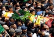 تشييع جثمان الشهيد محمد حطاب في مخيم الجلزون
