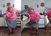 20 مليون مشاهدة لمُسنة ترقص بالمطبخ