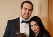 وائل جسار في ظهور نادر مع زوجته الجميلة وإبنتهما في مصر