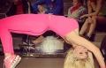 """بالصور: ماذا يُمكن أن ترتدي ميريام كلينك في """"الجيم""""!!"""