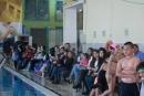 المدرب جوني دبيني يحضر نادي الاوائل للمشاركة في بطولة السباحة الاسرائيلية