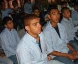 طلاب مدرسة معاوية يشاركون بفعاليات جودة البيئة