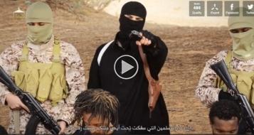 فيديو جديد: داعش يذبح مسيحيين إثيوبيين لرفضهم اعتناق الاسلام