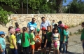 بمبادرة الجلبوع طلاب طمرة الزعبية يقومون بحملة نظافة بالقرية