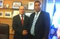 المصري يلتقي الوزير شالوم لحل مشكلة الكهرباء بكفر قرع