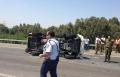 إصابة خطيرة وأخرى متوسطة بحادث طرق قرب قيساريا