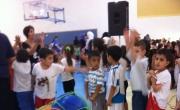 يوم رياضي بمشاركة البساتين ورياض الاطفال بطرعان