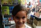 الطفلة شيراز منصور: انتظر الصف الاول بفارغ الصبر