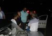 حادث طرق عند مدخل وادي سلامة وفرار أحد السيارات المشتركة في الحادث