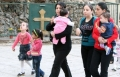 آلاف المسيحيين العراقيين يتدفقون على بغداد طلبا للأمان