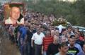 مجد الكروم تودع ابنها أيسر جابر بجنازة مهيبة
