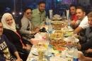 أحلام ورامي عياش يتناولان العشاء سمك وجمبري بالإسكندرية