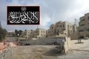 مستوطنون يزيلون رايات اسلامية عن منزل في الصوانة