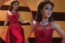 ميريام فارس تستعرض فستانها واكسسواراتها