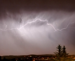 الراصد الجوي: اشتداد الأمطار بالساعات القادمة