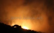 ام الفحم: حريق مكب النفايات مستمر لليوم الثالث على التوالي