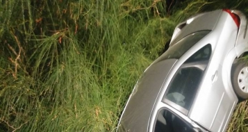 وادي حمام: سقوط سيارة واصابة سائقتها