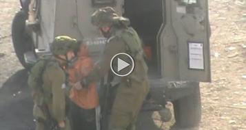 فيديو: جنود يحتجزون طفلا محدوداً عقليا في الخليل