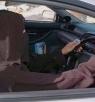 أول مواطنه سعودية تقود سيارتها ضمن حمله 26 اكتوبر
