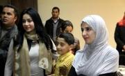 حنان ترك ولجين عمران تصلان إلى غزة