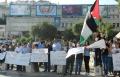 الناصرة: الجبهة تنظم تظاهرة رفع شعارات ضد تجنييد المسيحيين