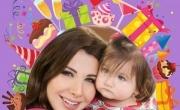 نانسي عجرم: سعيدة بعيد ميلاد حبيبة قلبي ابنتي ايلا