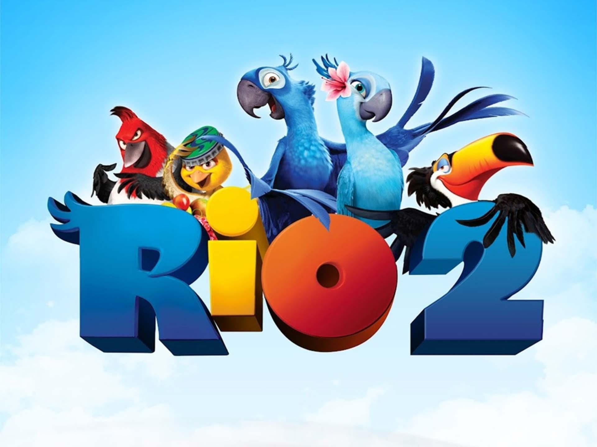 Rio 2 Movie Wallpaper Rio 2 Film Poster Wallpaper