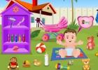 لعبة العناية بالطفل الجميل
