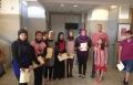 معرض الرسم الرابع لطلاب الاعداديات في تبواح بايس الطيبة