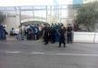 نشطاء يغلقون مقر الأمم المتحدة برام الله احتجاجا على تدهور أوضاع الأسرى المضربين