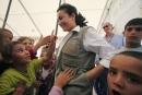 هند صبرى تشارك فى خدمة المجتمع التونسي