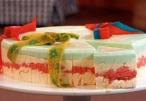 تحلاية اليوم، حلو الرينبو من مطبخ منال العالم