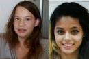 اختفاء اثار فتاتين بعد مشاهدتهما في فندق هوليدي ان اشكلون
