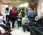 الناصرة: طلاب مدرسة البيروني يزورون بيت المسن