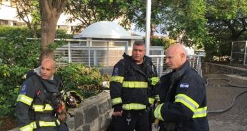 طبريا : احتراق بيت للاستضافة وطواقم الاطفاء تهرع الى المكان