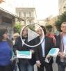 عكا: مرشحو المشتركة يوزعون نشرة انتخابية في البلدة القديمة