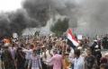 مئات الاف اليمنيين يتظاهرون ضد العدوان السعودي