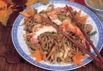 معكرونة ثمار البحر (صيني) من مطبخ بكرا