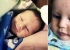 طفل يحير الأطباء بعد ولادته وعلى جبينه رقم 12